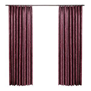 轻奢北欧简约雪尼尔加厚遮光卧室客厅拼撞色中式隔热防晒窗帘布料