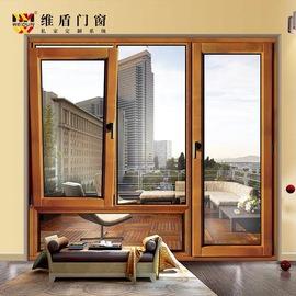 南京德国维盾断桥铝合金门窗封阳台露台平开隔音玻璃落地窗户定制图片