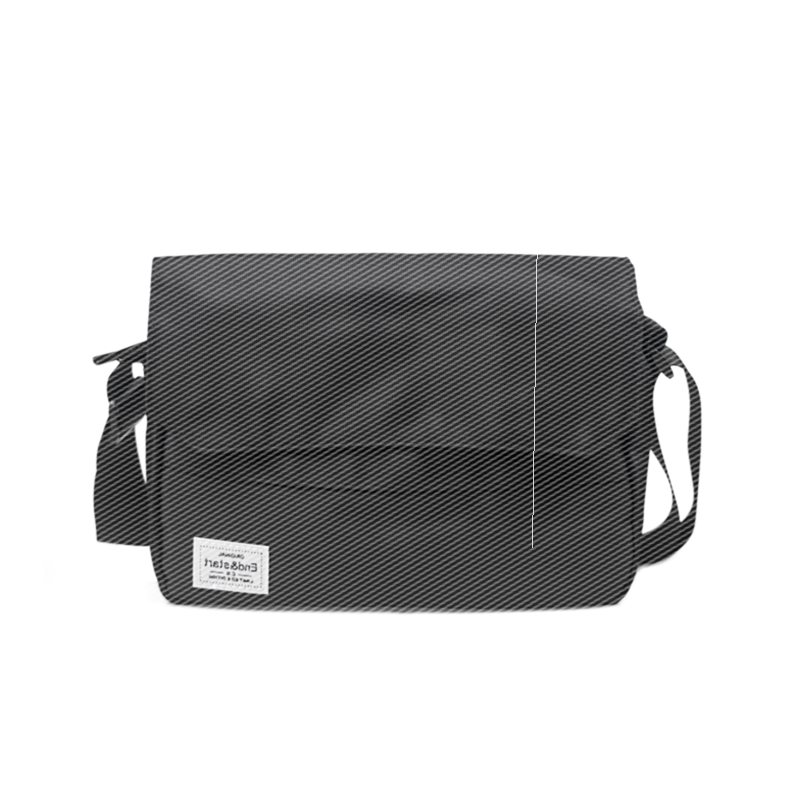 Retro simple mens single shoulder bag Korean version sports slant jump bag fashion fold postman bag student leisure backpack trend