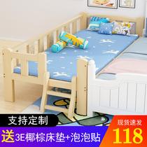 網紅小戶型出租房經濟木床ins米雙人床主臥1.8北歐實木床簡約現代