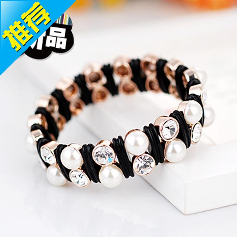 Nubila new Korean 8V Fashion Black personality charm fashion Elastic Bracelet a010630u-002