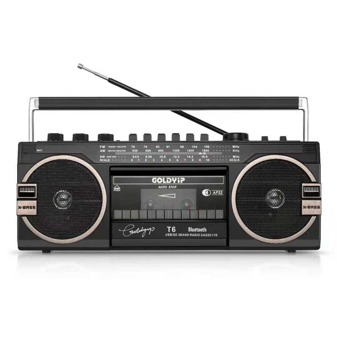 录音机磁带机老式怀旧小型放80年代老物件随身听播放机卡带机复古