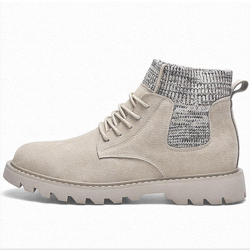 Martin boots mens autumn fashion shoes 2020 new low top Martin shoes mens British retro desert work clothes shoes men