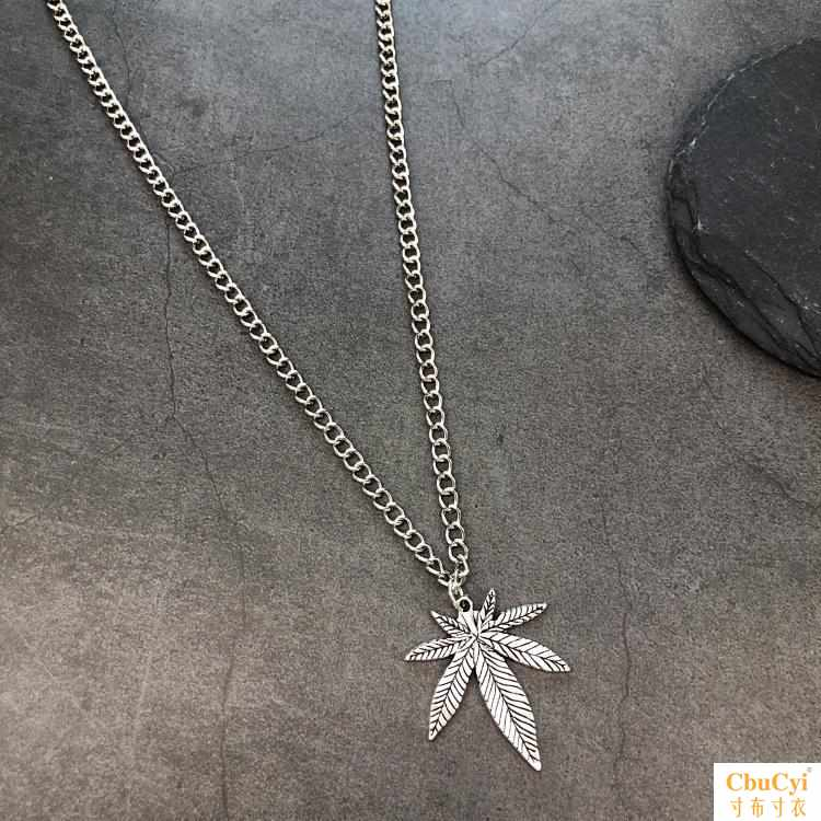With fashion hip hop casual necklace, female rap personality lovely, European and American street style trend rap Pendant