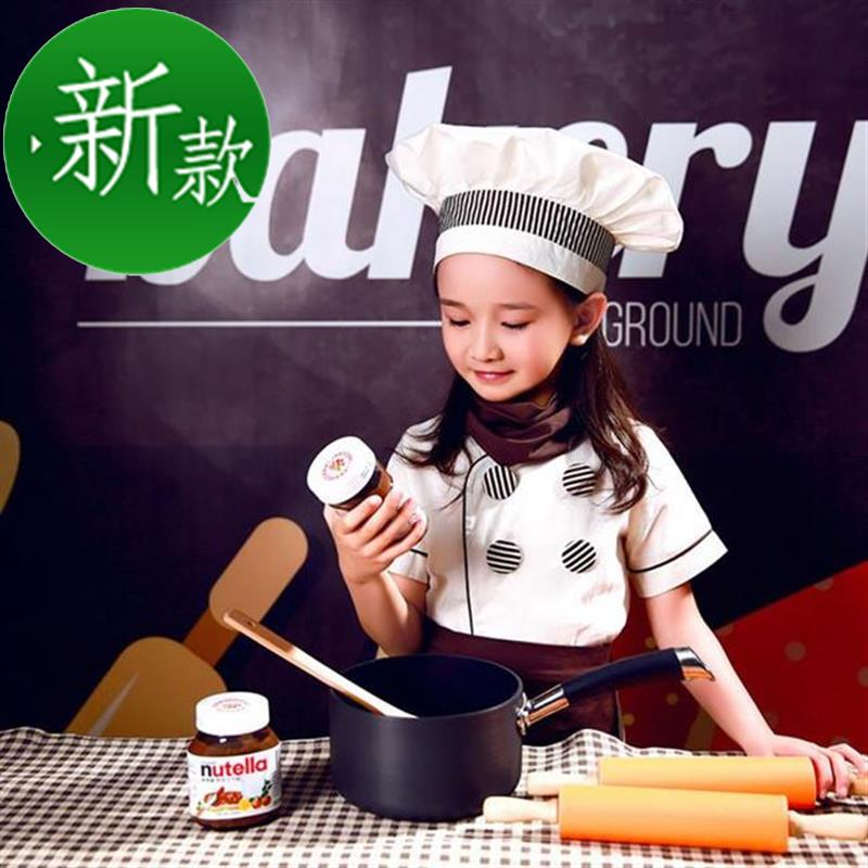 New products. Custom made clothes baking kindergarten role play children suit work clothes kitchen