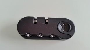 帆布旅行箱固定密码锁维修配件包pu密码锁弹扣皮箱登机箱行李箱