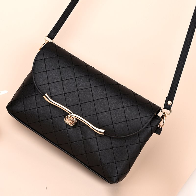 2020 new womens mini bag, One Shoulder Satchel, Korean version, womens slant bag, slant cross backpack, soft leather bag trend