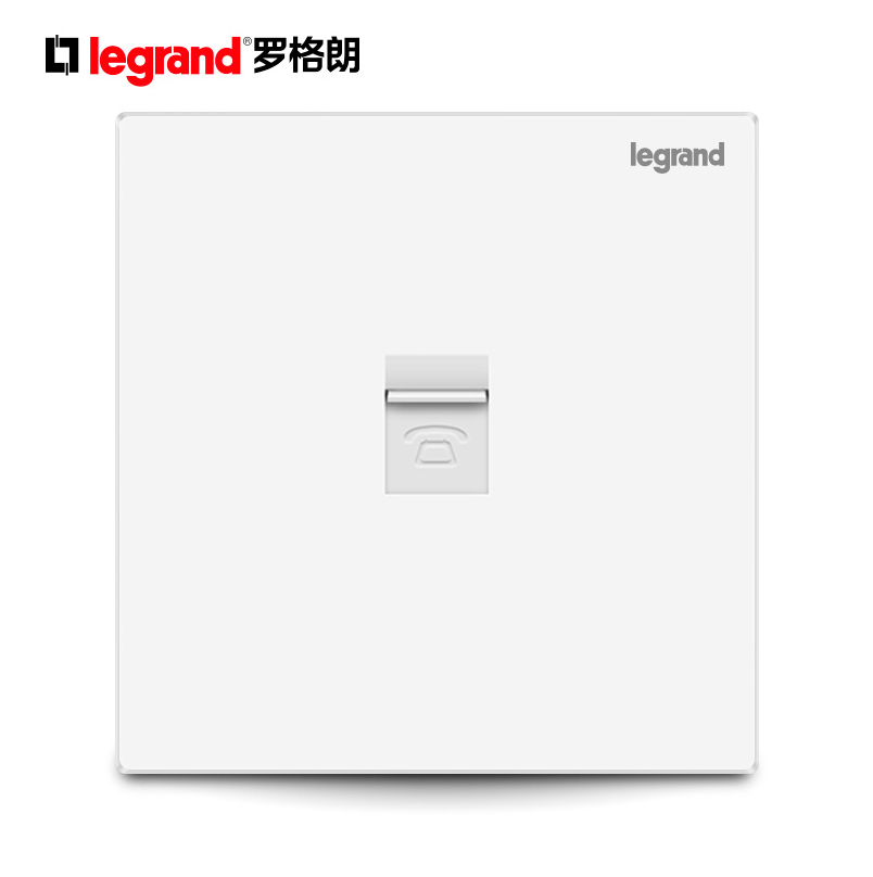 TCL Legrand telephone socket switch panel 86 Shidian series telephone voice socket panel authentic
