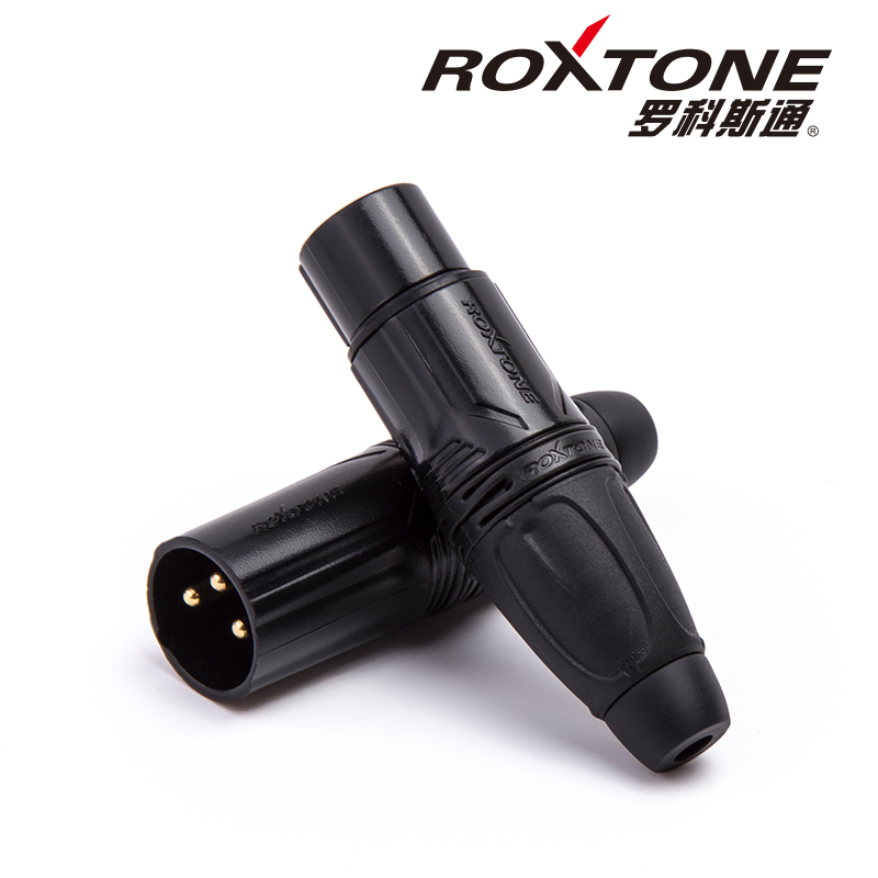 Roxtone XLR three core XLR XLR mixer speaker condenser microphone Canon male female plug