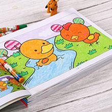 Children's Coloring Book Children's learning painting book 3-6 years old graffiti enlightenment Painting Book Coloring Book kindergarten drawing book