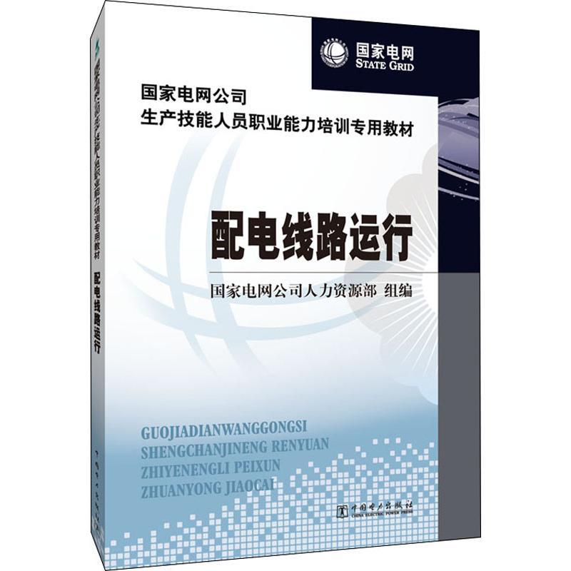 配电线路运行:大中专理科水利电力 大中专 中国电力出版社