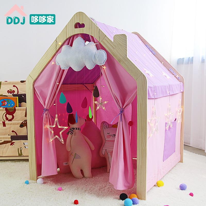 儿童室内床上帐篷小孩游戏宝宝玩具11-12新券