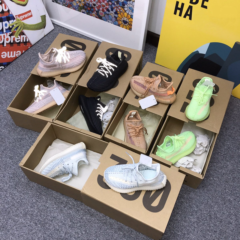 Palusen co branded genuine coconut 350v2 mens all star real pop Putian authentic official website couple sports shoes white