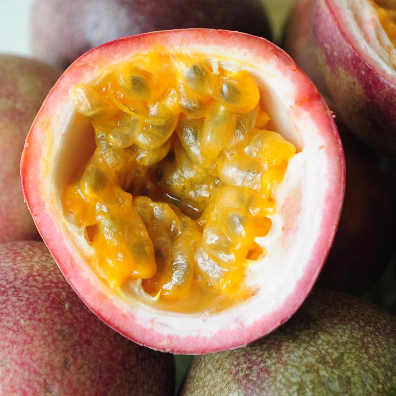 (用14.8元券)广西百香果净重3斤包邮大果红果