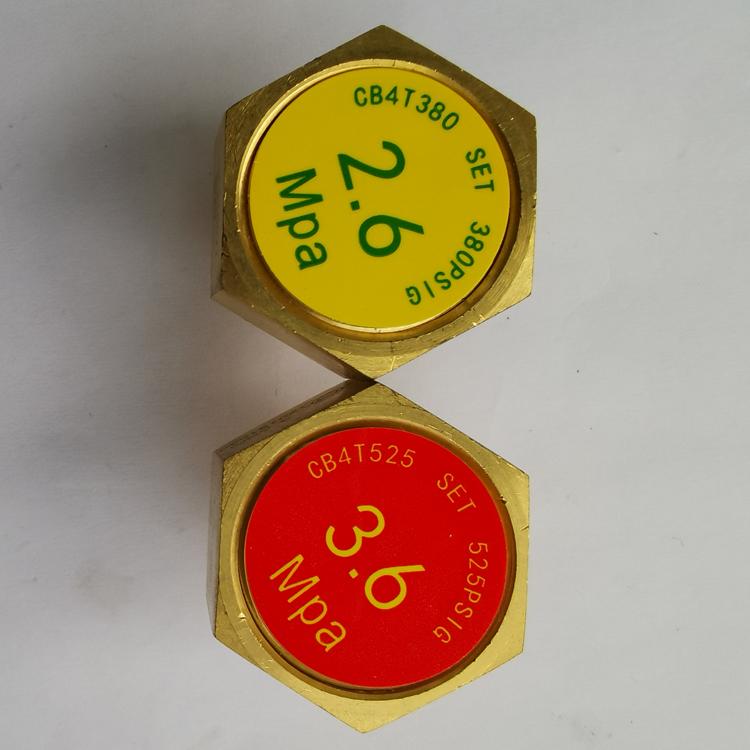 焊接低温绝热气瓶配件杜瓦罐内胆爆破片液氧瓶安全装置2.6 3.6Mpa