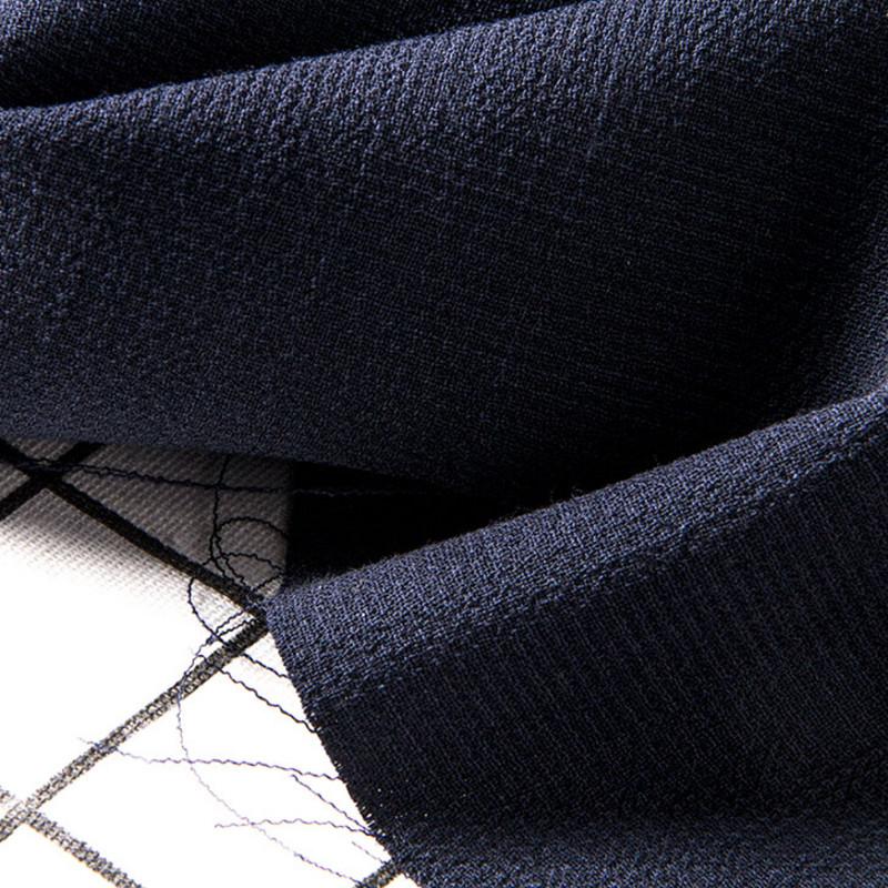 西装布料意大利产双层可剥羊毛绉纱设计师高定裤子套装连衣裙
