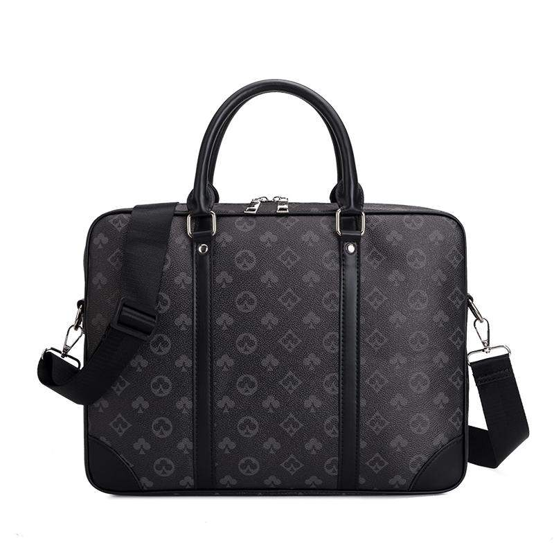 Mens portable bag 2020 European and American new business briefcase large capacity laptop case lvlihaio