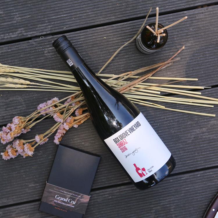 博客斯格拉芙西拉干红葡萄酒
