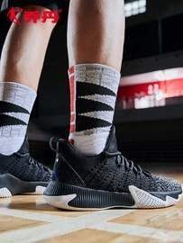 乔丹专柜正品高档中帮篮球鞋夏季透气球鞋男篮球运动鞋2020新款男图片