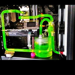 电脑水冷套装 台式机服务器水冷 水冷水箱一体 CPU显卡水冷散热器