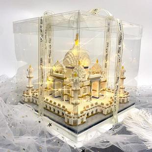 超難手工高難度手工diy大型城堡模型大型拼裝製作材料大人自制dly
