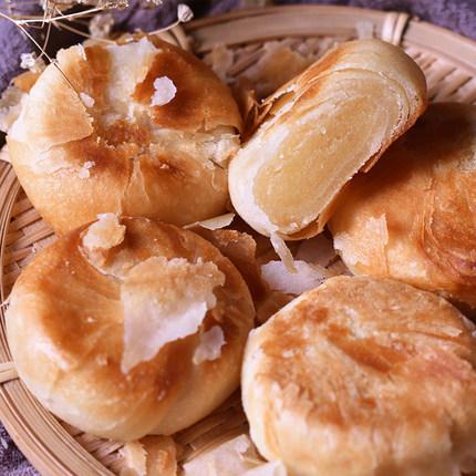 泉州伴手礼绿豆饼特产(正泉成)闽南手工传统老式冰皮绿豆饼酥皮