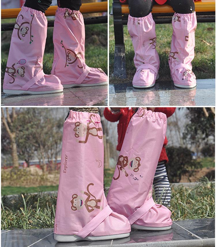 宝宝小孩男女童雨鞋套雨鞋雨天防水鞋套防滑儿童防雨鞋套加厚耐磨