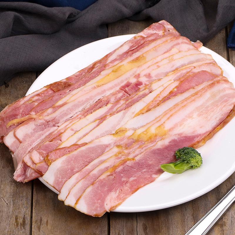 【健士牌】烟熏肉培根肉片500g一包