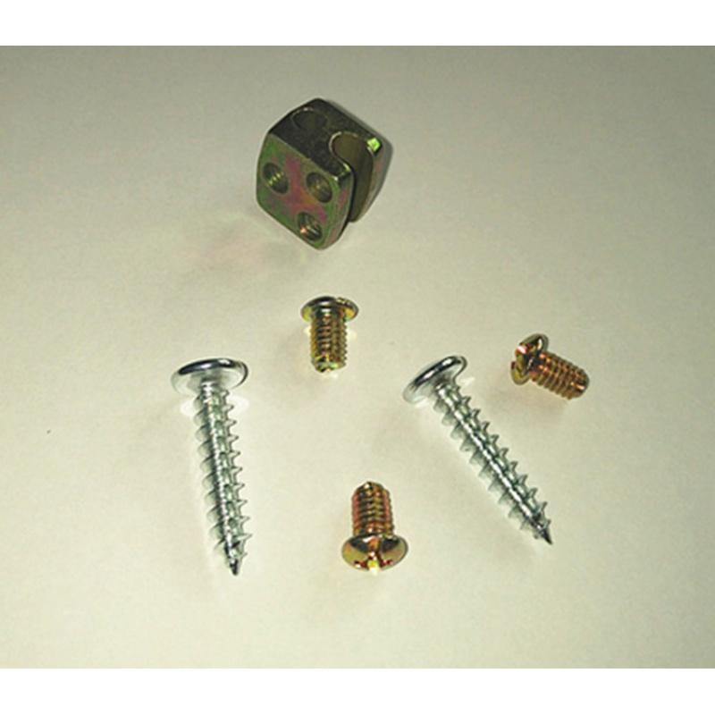 中控锁马达安装固定五金配件拉杆铁片螺丝铁扣 五菱长安汽车配件