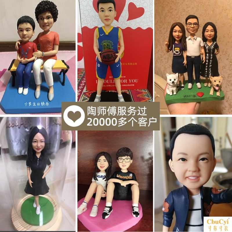 Портретные куклы по фотографии / Статуэтки по фотографии на заказ  Артикул 619215886283