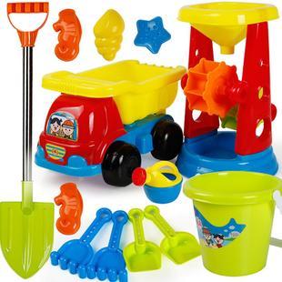 儿童沙滩玩具套装玩沙挖沙工具沙漏铲子男女宝宝决明子玩具沙滩