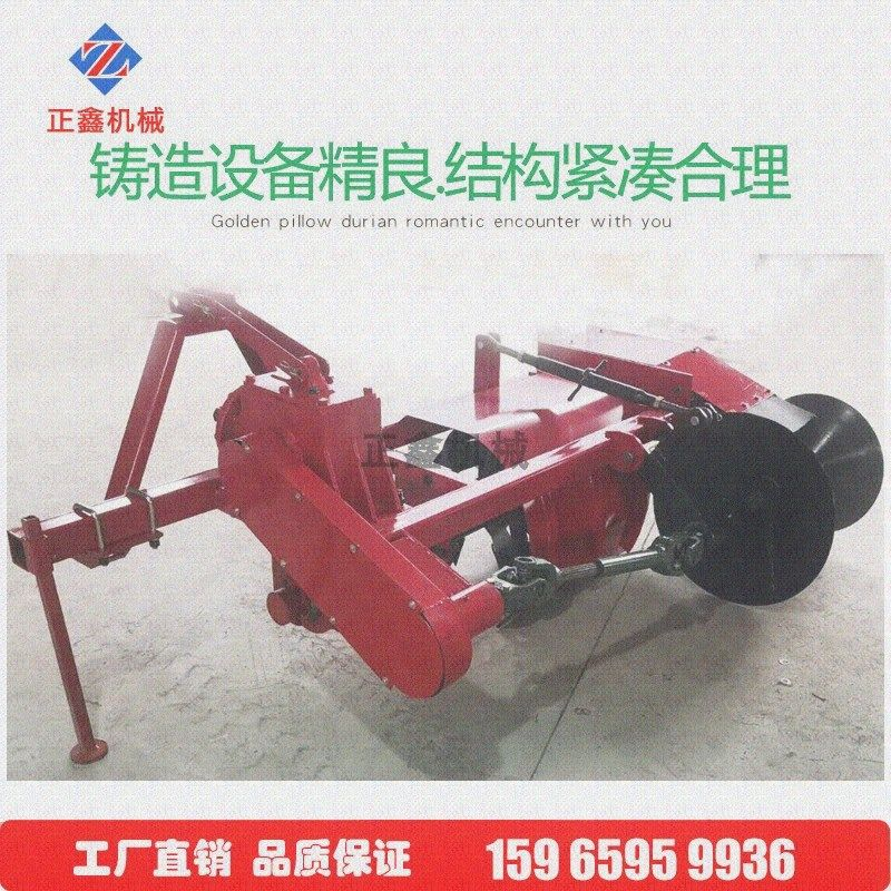 Paddy field revetment machine tractor with revetment machine small revetment machine rice field revetment machine stemming machine