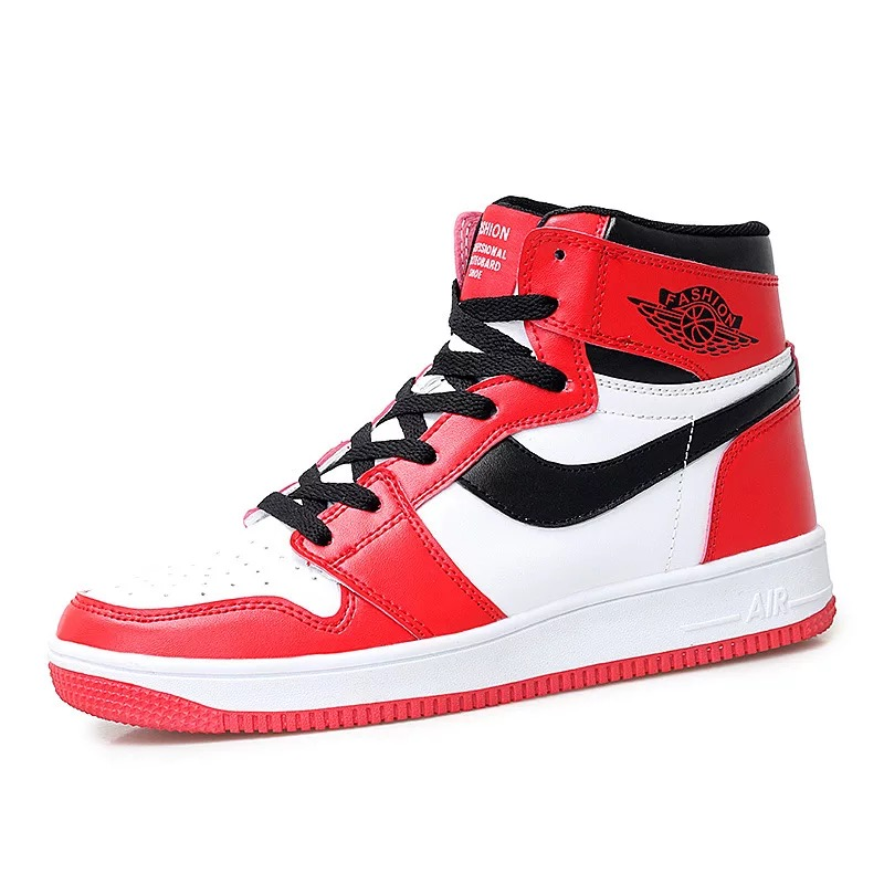 Men's shoes, new board shoes, fashion shoes for students, new warm high top shoes in winter