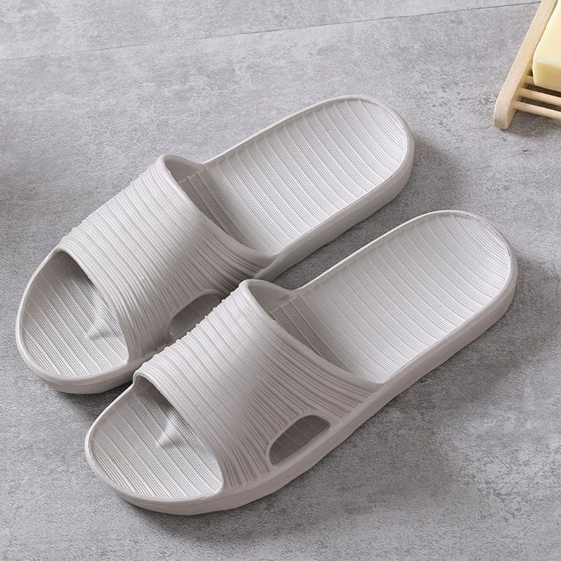Summer indoor slippers for men and women, indoor anti slippery, anti foaming foam slippers, light, soft, thick, bottom bathroom, cold towing.