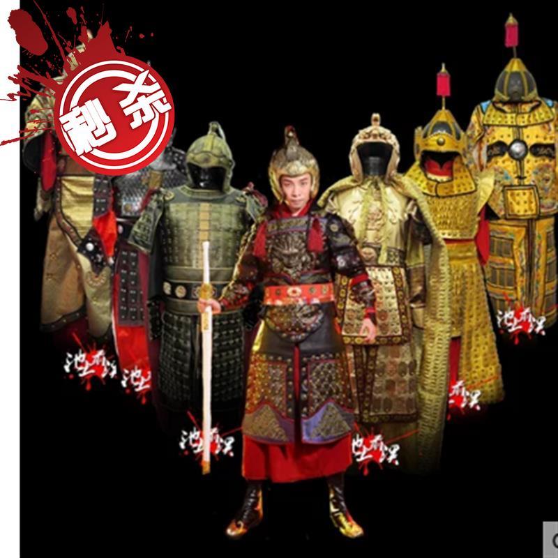 成龙电影神话盔甲服装古代盔甲服装将军盔甲演出服i中国将军盔甲