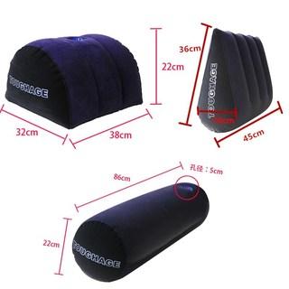 情趣沙发三角枕夫妻床上性垫子房事垫辅助多功能情侣床垫充气家具