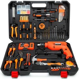 家用工具套裝五金工具組套手動維修工具箱家具安裝建筑裝潢套