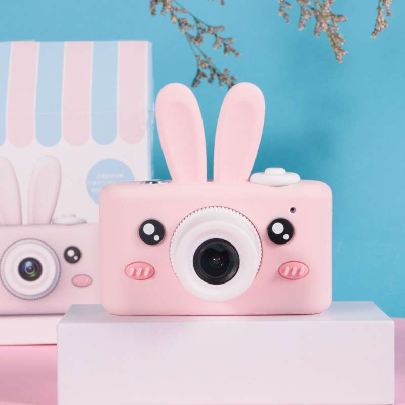 Childrens entry level portable small fool cartoon portable SLR male and female digital camera students