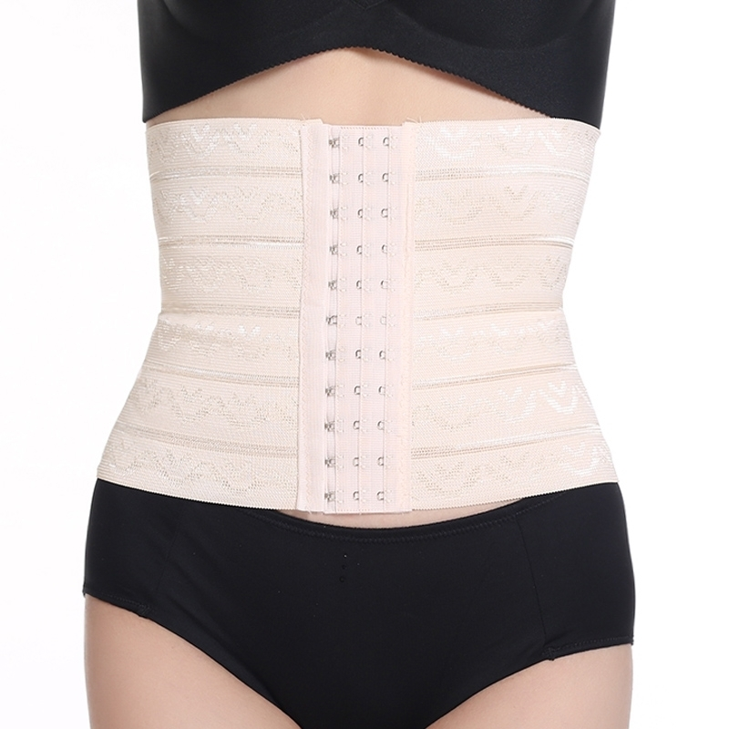 冬季男女通用束腰塑身衣收腹带束腰带薄腰封瘦身透气护腰排扣包邮买三送一