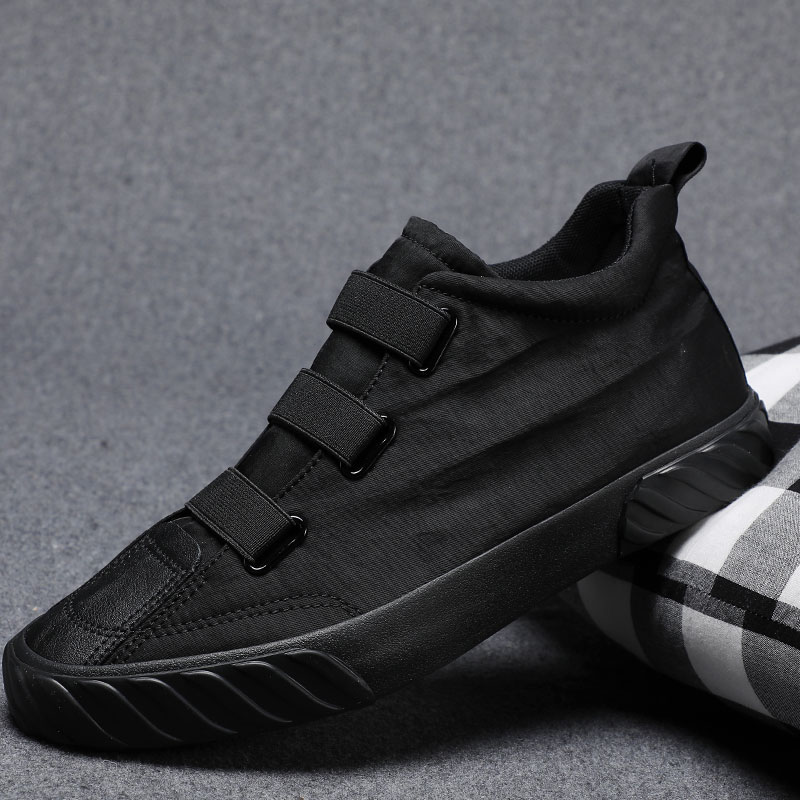 2021 spring mens shoes Korean version new canvas high top shoes mens flat bottomed versatile shoes small size high top casual shoes
