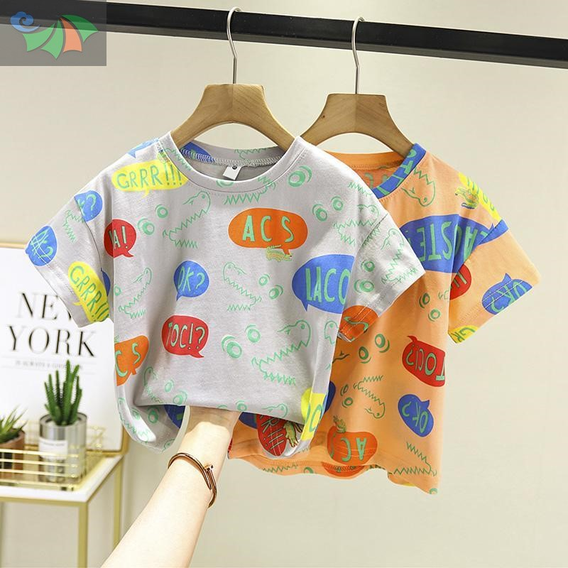 中國代購|中國批發-ibuy99|T恤男|童装男童短袖T恤纯棉2020夏季新款洋气儿童半袖上衣潮韩版中小童9