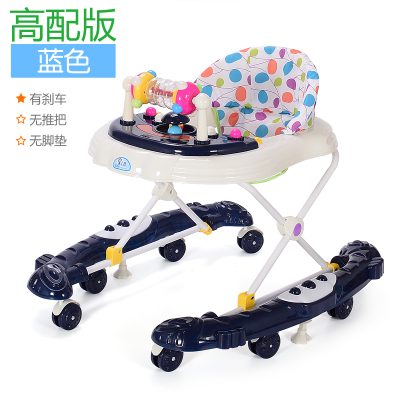 儿童学步车可坐起步车乐手推车多功能防侧。男孩多功能助步婴儿音(用1.32元券)