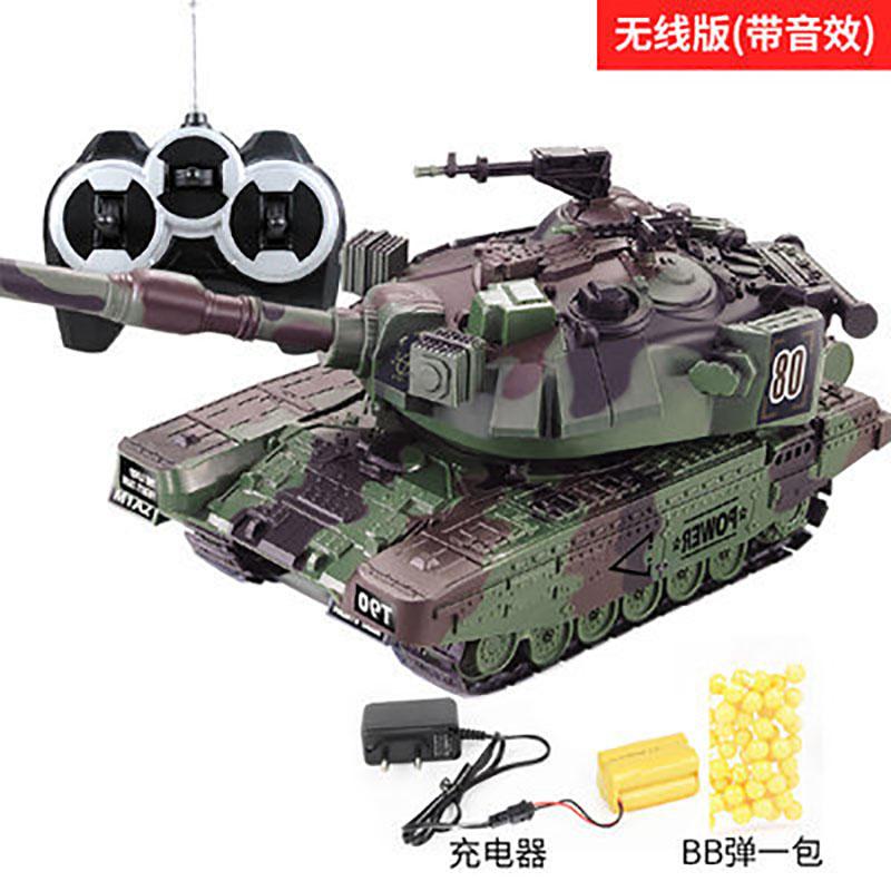 迷你遥控坦克可开炮发实弹小型摇控坦克履带式防滑链小孩玩具躺克