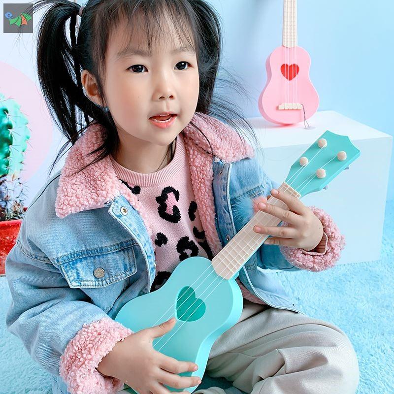 中國代購|中國批發-ibuy99|吉他|儿童音乐小吉他可弹奏中号尤克里里仿真乐器琴男女宝宝玩具3-12岁