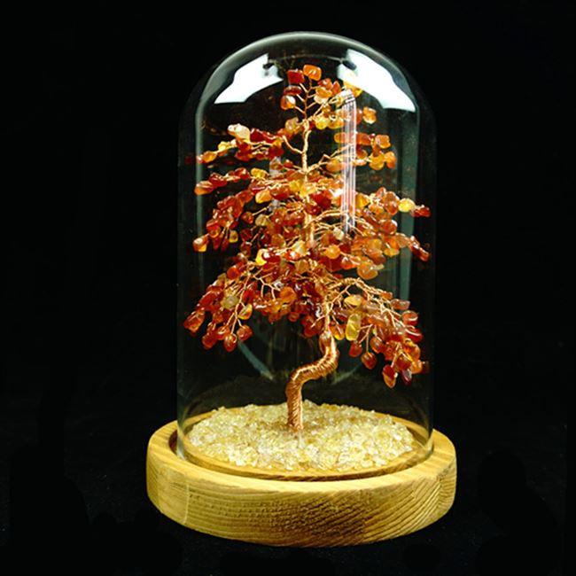 Fortune tree Amethyst natural new Topaz Amethyst powder crystal tourmaline olivine fortune tree ornaments