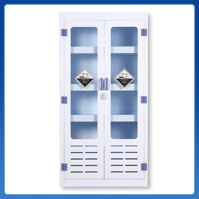 PP acid-base cabinet, ventilated medicine cabinet, dangerous chemicals storage cabinet, acid-base resistant reagent cabinet, anti-corrosion container cabinet