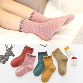 儿童纯棉1-2到3岁男童4至5周小女孩6秋天7儿童袜子(0-16岁)穿的8图片