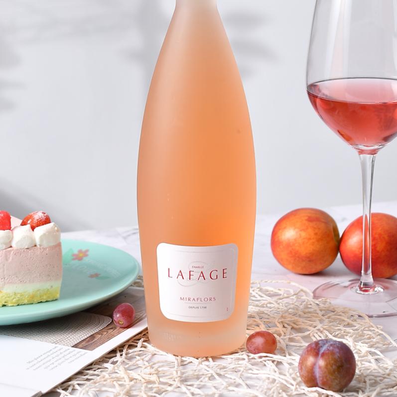 法国桃红 拉法奇酒庄Lafage 米拉弗洛干白葡萄酒 高颜值闺蜜爱
