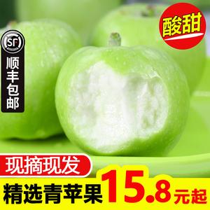 领5元券购买青苹果10斤装新鲜酸甜山西绿5蛇果