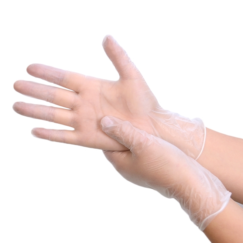 一次性手套食品级PVC餐饮烘培乳胶橡胶加厚TPE厨房防油家用防护
